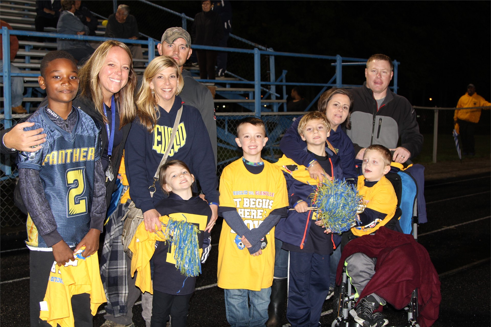 Arbor Elementary School students honored at Friday night football game