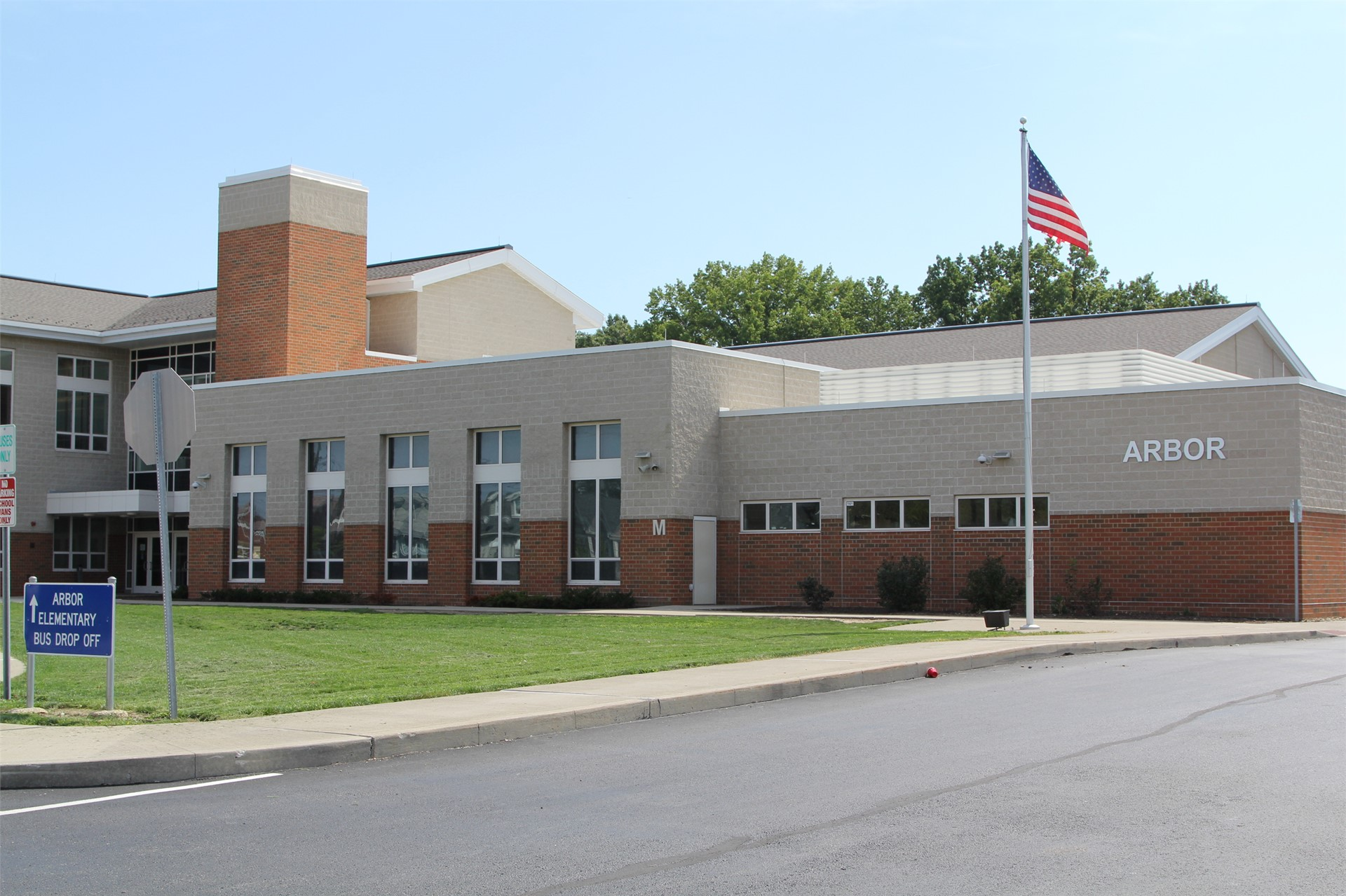 Arbor Elementary School building view