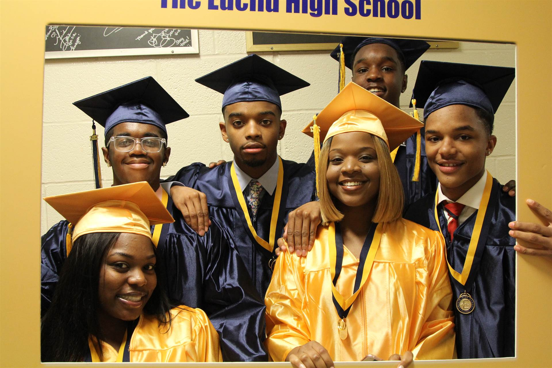 Pre-commencement Ceremony for Euclid High School Seniors