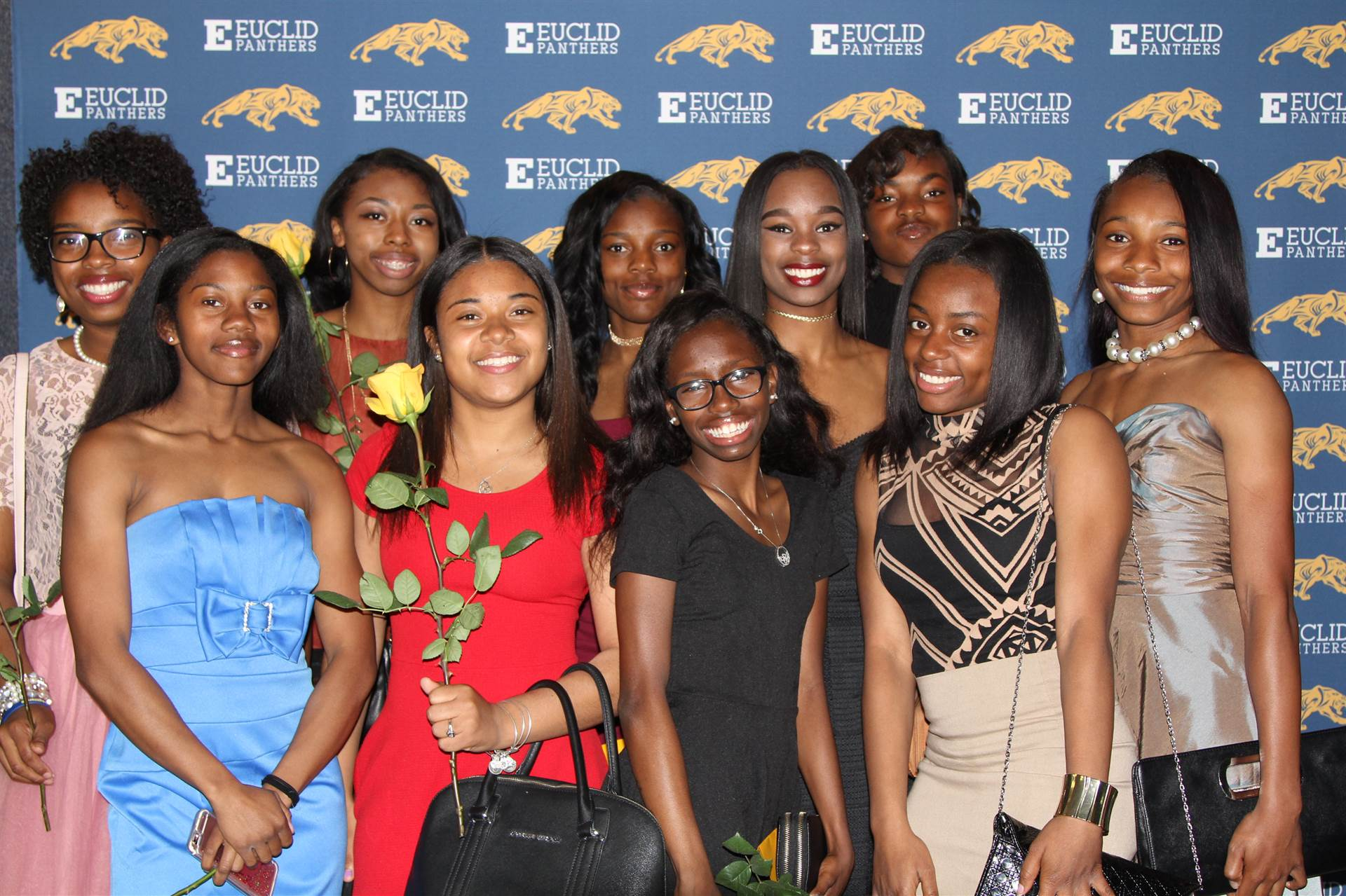 EHS Track Girls at the PAW Awards