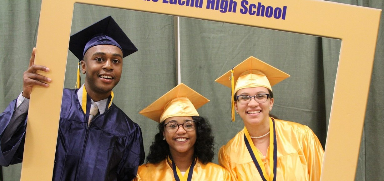 EHS graduates at commencement
