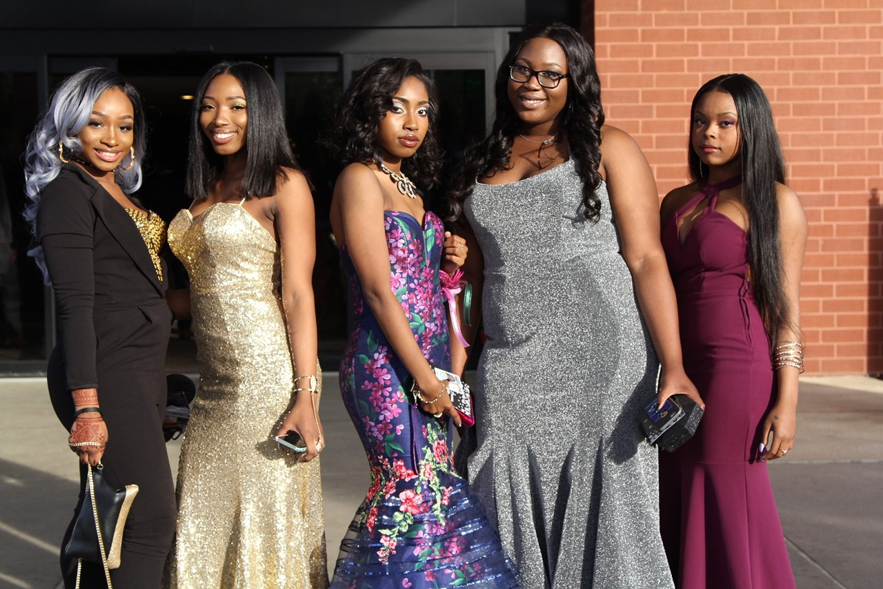 EHS girls at Prom