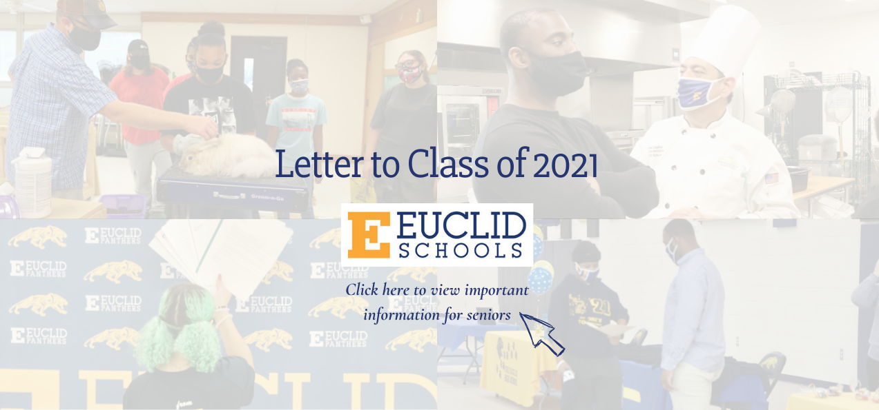 Letter to Class of 2021