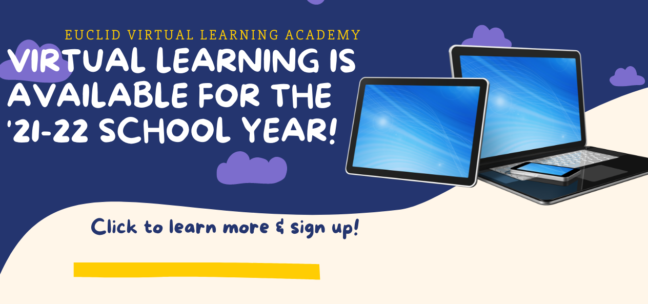 Signup link for Euclid Virtual Learning Academy